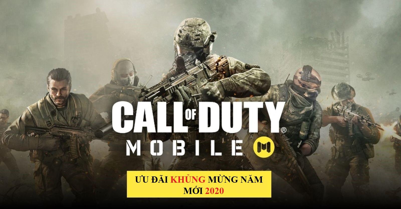 Nạp CP Call Of Duty giá rẻ, uy tín 2020